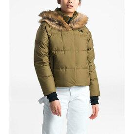 (取寄)ノースフェイス レディース ディリオ ダウン クロップ ジャケット The North Face Women's Dealio Down Crop Jacket British Khaki 送料無料