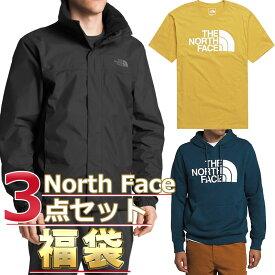 ノースフェイス 福袋 ジャケット Tシャツ パーカー メンズ 3点セット USAモデル THE North Face 送料無料 メンズ ブランド 福袋 お得な半袖Tシャツ、スウェットパーカー、ジャケット3点セット福袋 2021 取寄 送料無料