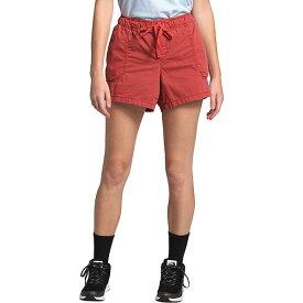 (取寄)ノースフェイス レディース モーション プルオン 4 インチ ショット The North Face Women's Motion Pull-On 4 Inch Short Sunbaked Red