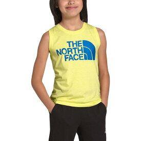 【クーポンで最大2000円OFF】(取寄)ノースフェイス ガールズ トライ タンクトップ The North Face Girls Tri Tank Top Stinger Yellow Heather