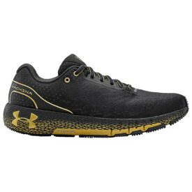 (取寄)アンダーアーマー メンズ シューズ ホバー マシーナ Underarmour Men's Shoes Hovr Machina Blackout Purple Metallic Gold Metallic Gold
