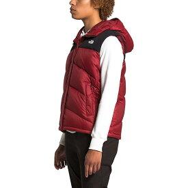 【マラソン ポイント10倍】(取寄)ノースフェイス レディース ウィメンズ バラム ダウン ベスト The North Face Women's Balham Down Vest Pomegranate