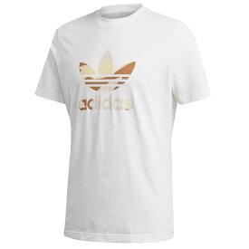 アディダス Tシャツ メンズ 半袖 オリジナルス ホワイト トレフォイル 迷彩 カモ柄 Adidas Men's Camouflage Trefoil Tee Shirt 送料無料