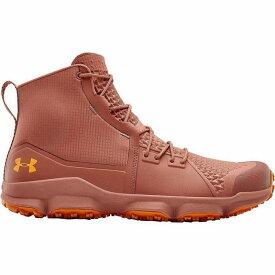 (取寄)アンダーアーマー メンズ スピードフィット 2.0 ハイキング ブーツ Under Armour Men's Speedfit 2.0 Hiking Boot Cedar Brown/Persimmon/Persimmon