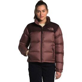 (取寄)ノースフェイス ダウンジャケット レディース エコ ヌプシ ジャケット The North Face Women's Eco Nuptse Jacket Marron Purple / Root Brown 送料無料