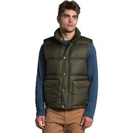 (取寄)ノースフェイス メンズ シェラ ダウン ベスト The North Face Men's Sierra Down Vest New Taupe Green 送料無料