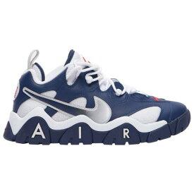 (取寄)ナイキ メンズ シューズ エア バレージ ロー Nike Men's Shoes Air Barrage Low Midnight Navy Midnight Navy White 送料無料