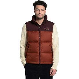 (取寄)ノースフェイス ダウンベスト メンズ エコ ヌプシ ベスト The North Face Men's Eco Nuptse Vest Brandy Brown / Root Brown 送料無料