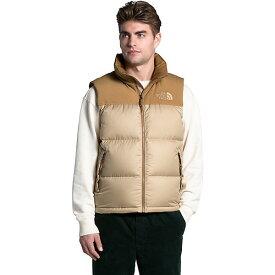 (取寄)ノースフェイス ダウンベスト メンズ エコ ヌプシ ベスト The North Face Men's Eco Nuptse Vest Hawthorne Khaki / Utility Brown