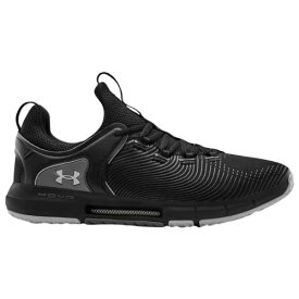 (取寄)アンダーアーマー メンズ シューズ ホバー ライズ 2 UNDER ARMOUR Men's Shoes Hovr Rise 2 Black Black Mod Grey
