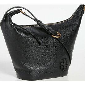 (取寄)トリーバーチ レディース McGraw スモール ジップ バケット バッグ Tory Burch Women's Mcgraw Small Zip Bucket Bag Black