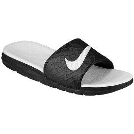 NIKE ナイキ レディース サンダル ベナッシ ソーラーソフト スライド 2 Nike Women's Benassi Solarsoft Slide 2 Black White