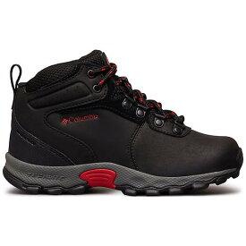 (取寄)コロンビア ユース ニュートン リッジ ブーツ Columbia Youth Newton Ridge Boot Black / Mountain Red