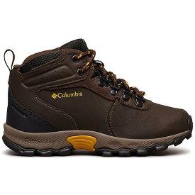 (取寄)コロンビア ユース ニュートン リッジ ブーツ Columbia Youth Newton Ridge Boot Cordovan / Golden Yellow