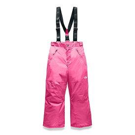 (取寄)ノースフェイス ユース スノークエスト サスペンダー プラス パンツ The North Face Youth Snowquest Suspender Plus Pant Mr. Pink