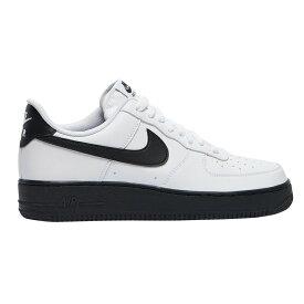ナイキ エアフォース1 白 スニーカー メンズ シューズ ロー Nike Men's Shoes Air Force 1 Low White Black