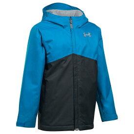 (取寄)アンダーアーマー ガールズ 女の子 UA コールドギア インフレア フレッシーズ ジャケット Under Armour Girls UA Coldgear Infrared Freshies Jacket Cruise Blue / Anthracite / Steel 送料無料