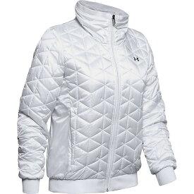(取寄)アンダーアーマー レディース コールドギア リアクター パフォーマンス ジャケット Under Armour Women's Coldgear Reactor Performance Jacket Onyx White / Black 送料無料