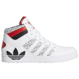 【訳あり アウトレット】アディダス スニーカー メンズ 白 ハイカット ホワイト fv6976 オリジナルス ハードコート シューズ Men's adidas Originals Hardcourt White White Black