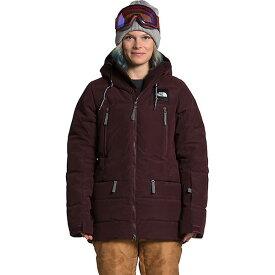 (取寄)ノースフェイス レディース パリー ダウンジャケット The North Face Women's Pallie Down Jacket Root Brown 送料無料