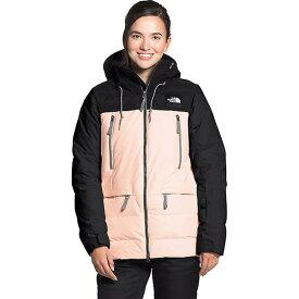 (取寄)ノースフェイス レディース パリー ダウンジャケット The North Face Women's Pallie Down Jacket TNF Black / Morning Pink 送料無料