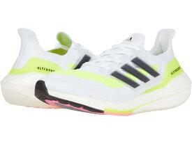 (取寄)アディダス メンズ ウルトラブースト 21 ランニングシューズ adidas Men's Running Ultraboost 21 White/Black/Solar Yellow 送料無料