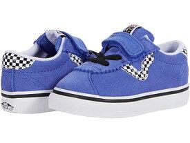 (取寄)バンズ スポーツ V Vans Kids Sport V (Infant/Toddler) (Checkerboard) Baja Blue/True White