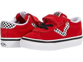 (取寄)バンズ スポーツ V Vans Kids Sport V (Infant/Toddler) (Checkerboard) High Risk Red/True White