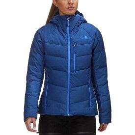 (取寄)ノースフェイス ヘブンリー フーデット ダウン ジャケット - レディース The North Face Heavenly Hooded Down Jacket - Women's Sodalite Blue