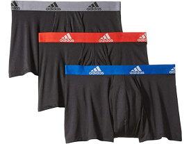 (取寄)アディダス クリマライト トランク 3パック adidas Climalite Trunk 3-Pack Black/Collegiate Royal Black/Scarlet Black/Onix