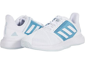 (取寄)アディダス メンズ コートジャム バウンス adidas Men's CourtJam Bounce White/White/Hazy Blue