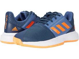 (取寄)アディダス キッズ コートジャム X テニス (リトル キッズ/ビッグ キッズ) adidas Kids CourtJam X Tennis (Little Kid/Big Kid) Crew Navy/Screaming Orange/Crew Blue