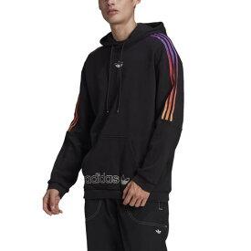 (取寄)アディダス オリジナルス メンズ スポーツ スウェット フーディ adidas originals Men's Sport Sweat Hoodie Black Multi