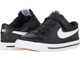 (取寄)ナイキ キッズ コート レガシー (インファント/トドラー) Nike Kids Court Legacy (Infant/Toddler) Black/White/Gum Light Brown