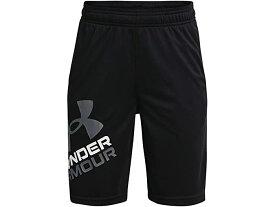 (取寄)アンダーアーマー ボーイズ キッズ プロトタイプ 2.0 ロゴ ショーツ (ビッグ キッズ) Under Armour Boy's Kids Prototype 2.0 Logo Shorts (Big Kids) Black/Pitch Gray