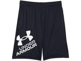 (取寄)アンダーアーマー ボーイズ キッズ プロトタイプ 2.0 ロゴ ショーツ (ビッグ キッズ) Under Armour Boy's Kids Prototype 2.0 Logo Shorts (Big Kids) Black/White