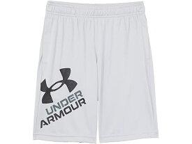(取寄)アンダーアーマー ボーイズ キッズ プロトタイプ 2.0 ロゴ ショーツ (ビッグ キッズ) Under Armour Boy's Kids Prototype 2.0 Logo Shorts (Big Kids) Mod Gray/Black