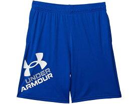 (取寄)アンダーアーマー ボーイズ キッズ プロトタイプ 2.0 ロゴ ショーツ (ビッグ キッズ) Under Armour Boy's Kids Prototype 2.0 Logo Shorts (Big Kids) Royal/White