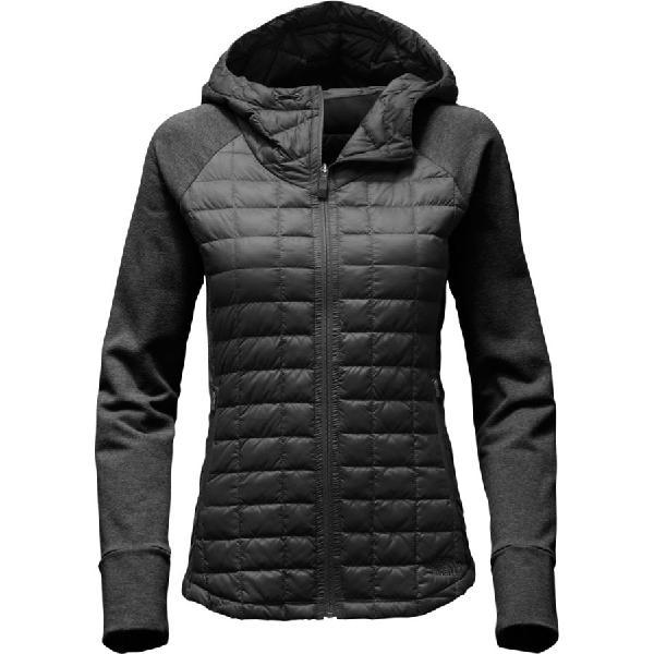 (取寄)ノースフェイス レディース エンデバー サーモボール ジャケット The North Face Women Endeavor Thermoball Jacket Tnf Black/Tnf Black Heather 【コンビニ受取対応商品】