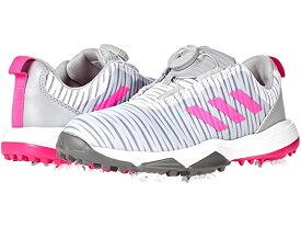 (取寄)アディダス ガールズ コードカオス BOA (リトル キッズ/ビッグ キッズ) adidas Golf Girl's Codechaos BOA (Little Kid/Big Kid) Grey/Scream Pink/Grey Four