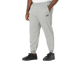 【1000円OFFクーポン配布中】(取寄)プーマ メンズ ビッグ アンド トール エッセンシャル ロゴ スウェットパンツ PUMA Men's Big & Tall Essentials Logo Sweatpants Medium Gray Heather