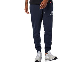 (取寄)ニューバランス メンズ エッセンシャル スタック ロゴ スウェットパンツ New Balance Men's Essentials Stacked Logo Sweatpants Eclipse