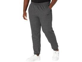 【1000円OFFクーポン配布中】(取寄)プーマ メンズ ビッグ アンド トール エッセンシャル ロゴ スウェットパンツ PUMA Men's Big & Tall Essentials Logo Sweatpants Dark Gray Heather