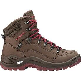 (取寄)ローバー レディース レネゲード GTX ミッド ハイキング ブーツ Lowa Women Renegade GTX Mid Hiking Boot Espresso/Berry【outdoor_d19】