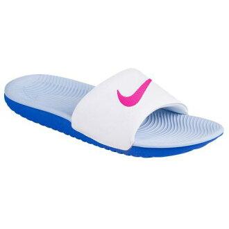 23b92647f91d7c SWEETRAG Rakuten Ichiba Shop  Nike Lady s sandals kava slide 834588 101 NIKE  Women s Kawa Slide White Fire Pink Coment Blue Aluminum