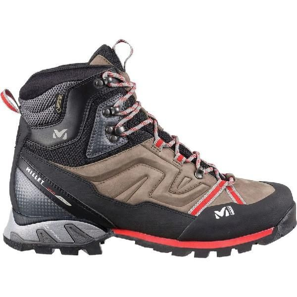 (取寄)ミレー メンズ ハイ ルート GTX ハイキング ブーツ Millet Men's High Route GTX Hiking Boot Faint Brown/Red