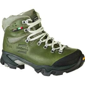 (取寄)ザンバラン レディース ヴィオツ ラックス GTX RR バックパッキング ブーツ Zamberlan Women Vioz Lux GTX RR Backpacking Boot Waxed Green