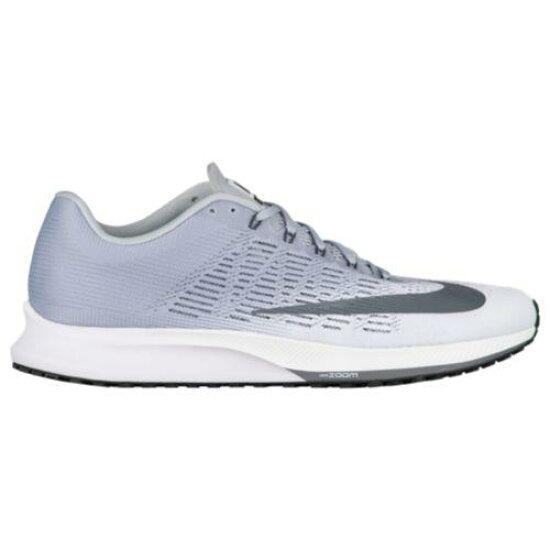 (索取)Nike耐吉人變焦距鏡頭精英9跑步鞋運動鞋Nike Men's Zoom Elite 9 White Dark Grey Wolf Anthracite SWEETRAG Rakuten Ichiba Shop