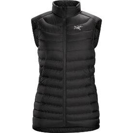 (取寄)アークテリクス レディース セリウム LT ダウン ベスト Arc'teryx Women Cerium LT Down Vest Black