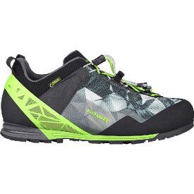 (取寄)ローバー メンズ アプローチ プロ GTX ロー シューズ Lowa Men's Approach Pro GTX Lo Shoe Anthracite/Lime【outdoor_d19】